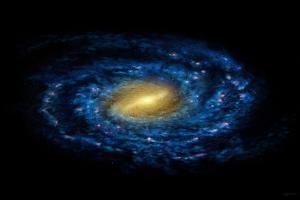Milky Way Galaxy by Chris Butler
