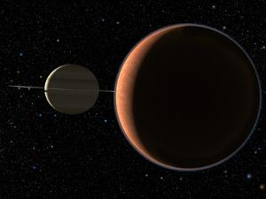 Saturn's Moon Titan by Chris Butler