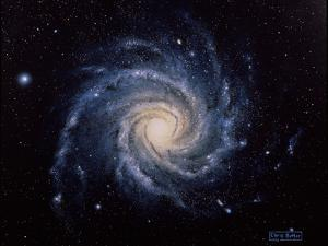 Spiral Galaxy M74 by Chris Butler