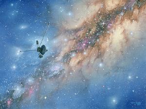 Voyager Spacecraft by Chris Butler