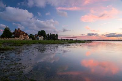 A View of the Water's Edge at Bosham in West Sussex