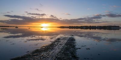 A View over Chichester Harbour at Sunrise