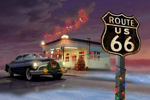 Christmas Route 66 by Chris Consani