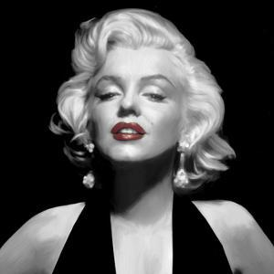 Halter Top Marilyn Red Lips by Chris Consani