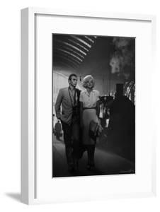 James Dean and Marilyn at the Station by Chris Consani