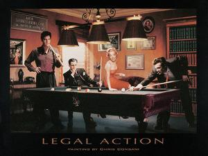 Legal Action by Chris Consani