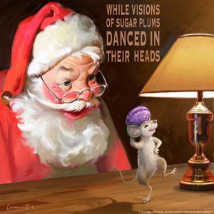 Santa 2 Sugar Plums by Chris Consani