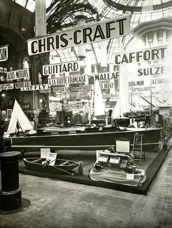 1929 Paris Boat Show