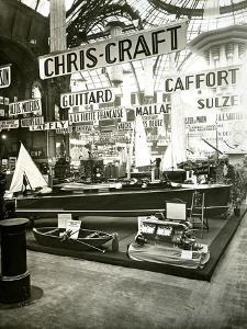 1929 Paris Boat Show by Chris-Craft