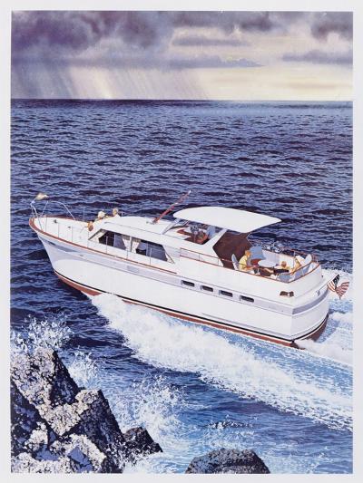 Chris-Craft Roamer Riviera--Giclee Print