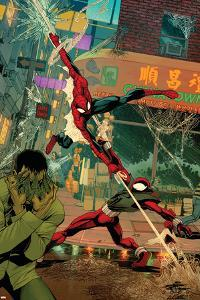 Spider-Man: The Clone Saga No.6 Cover: Spider-Man and Scarlet Spider by Chris Cross