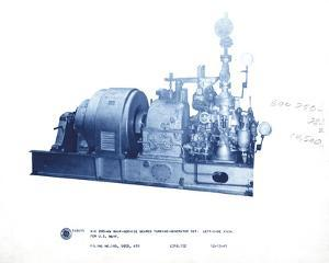 Mechanical Cyanotype VII by Chris Dunker
