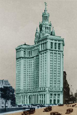 New York Postcard - Municipal