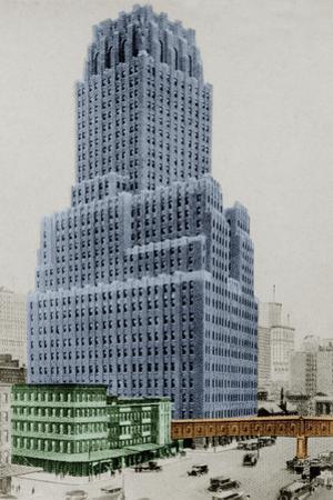 New York Postcard - Telephone