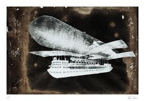 Vintage Flying Machine by Chris Dunker