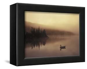 Fishing, Little Charlotte Lake, Chilcotin Region, British Columbia, Canada. by Chris Harris
