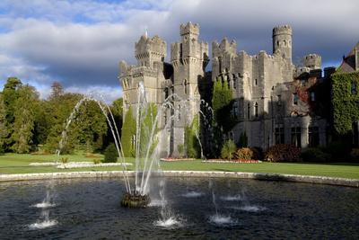 A Fountain on the Grounds of Ashford Castle, County Mayo, Ireland