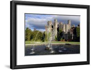 A Fountain on the Grounds of Ashford Castle, County Mayo, Ireland by Chris Hill