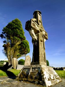 A High Cross at Ahenny in County Tipperary, Ireland by Chris Hill