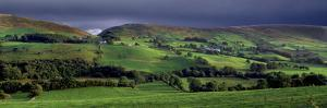 A Stormy Sky over the Glenelly Valley in the Sperrin Mountains, County Tyrone by Chris Hill