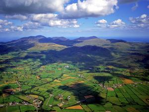 Aerial View Over the Mourn Mountains in Northern Ireland by Chris Hill
