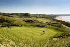 Ballybunnion Old Course in County Kerry, Ireland by Chris Hill