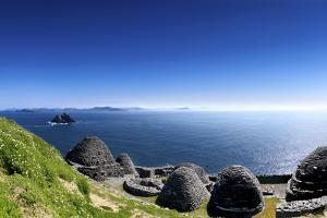Beehive Huts on Skellig Michael, County Kerry by Chris Hill