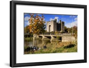 Bunratty Castle on the River Shannon in County Clare, Ireland by Chris Hill