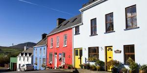Colorful Houses in Eyeries, County Cork by Chris Hill