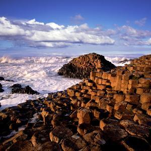 Giant's Causeway on the North Coast of Northern Ireland by Chris Hill