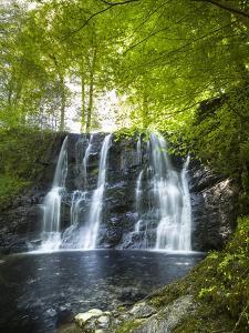 Glenariff Waterfall in County Antrim by Chris Hill