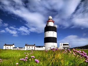 Hookhead Lighthouse in County Wexford, Ireland by Chris Hill
