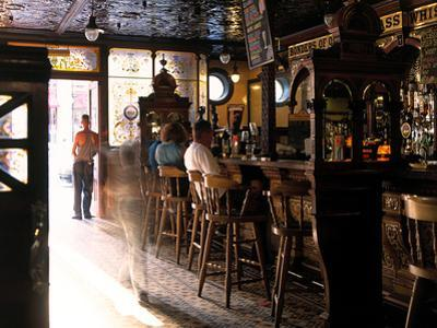 Inside the Crown Bar in Belfast by Chris Hill