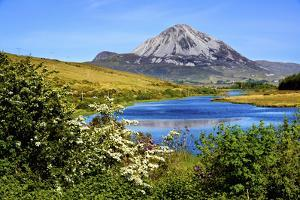 Mount Errigal in Donegal, Ireland by Chris Hill