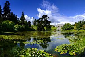 Powerscourt Estate and Gardens in County Wicklow, Ireland by Chris Hill