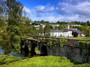River Nore at Inistogue, County Kilkenny, Ireland by Chris Hill
