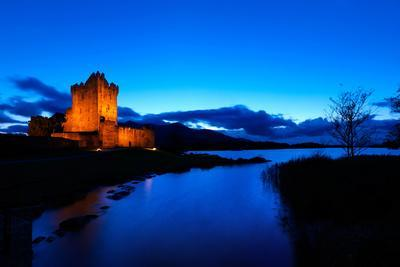 Ross Castle at Dusk in Killarney National Park, Kerry