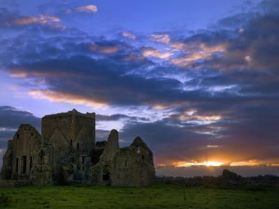 Sunset at Hore Abbey in Tipperary by Chris Hill