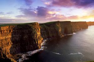 Sunset on the Cliffs of Moher, County Clare, Ireland by Chris Hill