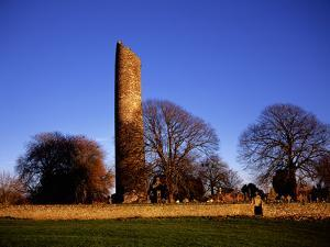 The Round Tower at Monasterboice by Chris Hill