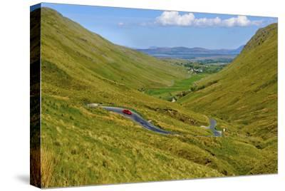 Winding Road Through Donegal in Ireland