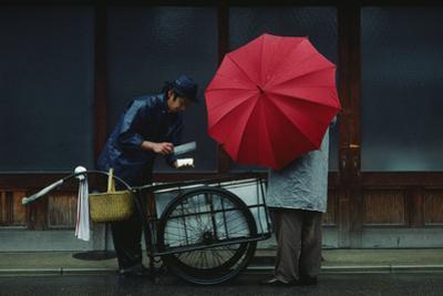 A Vendor Delivers Tofu Door-To-Door by Chris Johns