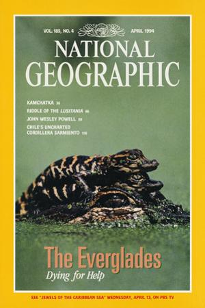 Cover of the April, 1994 National Geographic Magazine by Chris Johns