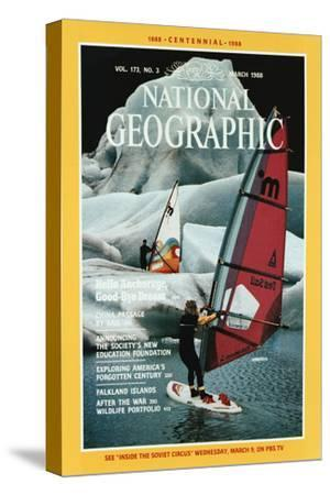 Cover of the March, 1988 National Geographic Magazine
