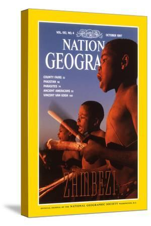 Cover of the October, 1997 National Geographic Magazine