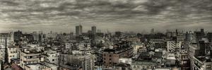 Cloudy Tokyo Skyline by Chris Jongkind