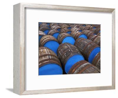 Painted Whiskey Barrels, Scotland