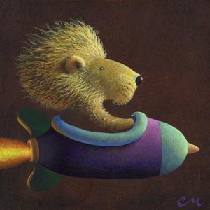 Rocket Lion by Chris Miles