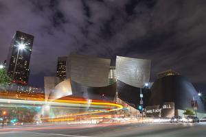 Bus Streak Disney Concert Hall by Chris Moyer
