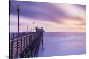 Dusk at the Oceanside Pier by Chris Moyer